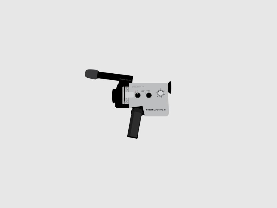 Gizmo - Canon AF-310-XL Super 8 movie camera
