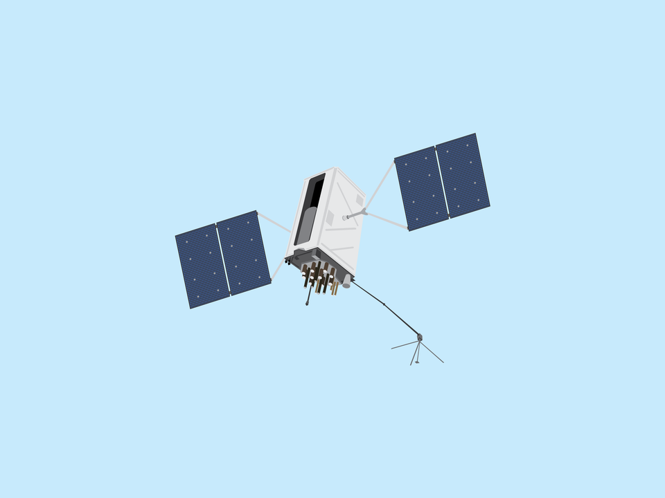Adventures in Space - GPS satellite