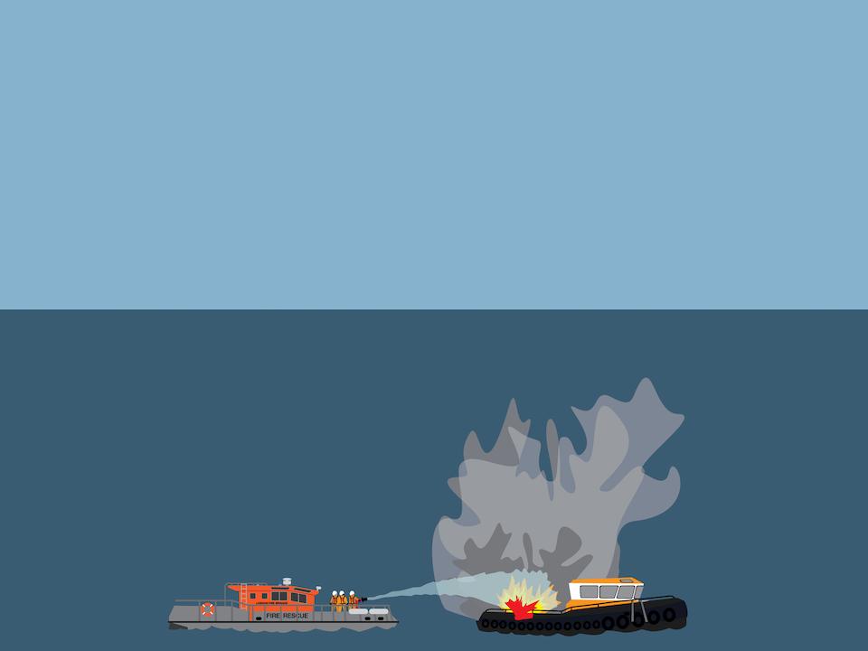 Emergency Vehicles - Firefighting on water