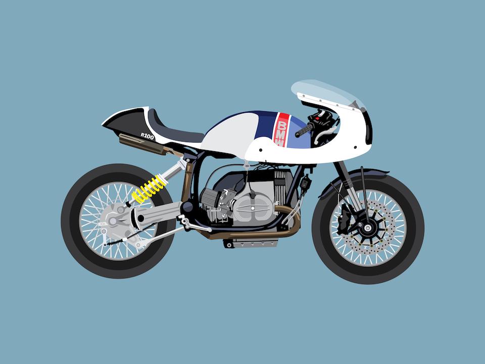 Vehicles - Union Motorcycles custom BMW R100