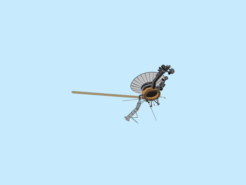 Adventures in Space - Pioneer 10 probe
