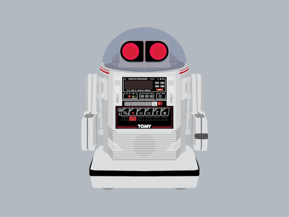 Gizmo - Tomy Omnibot 5402