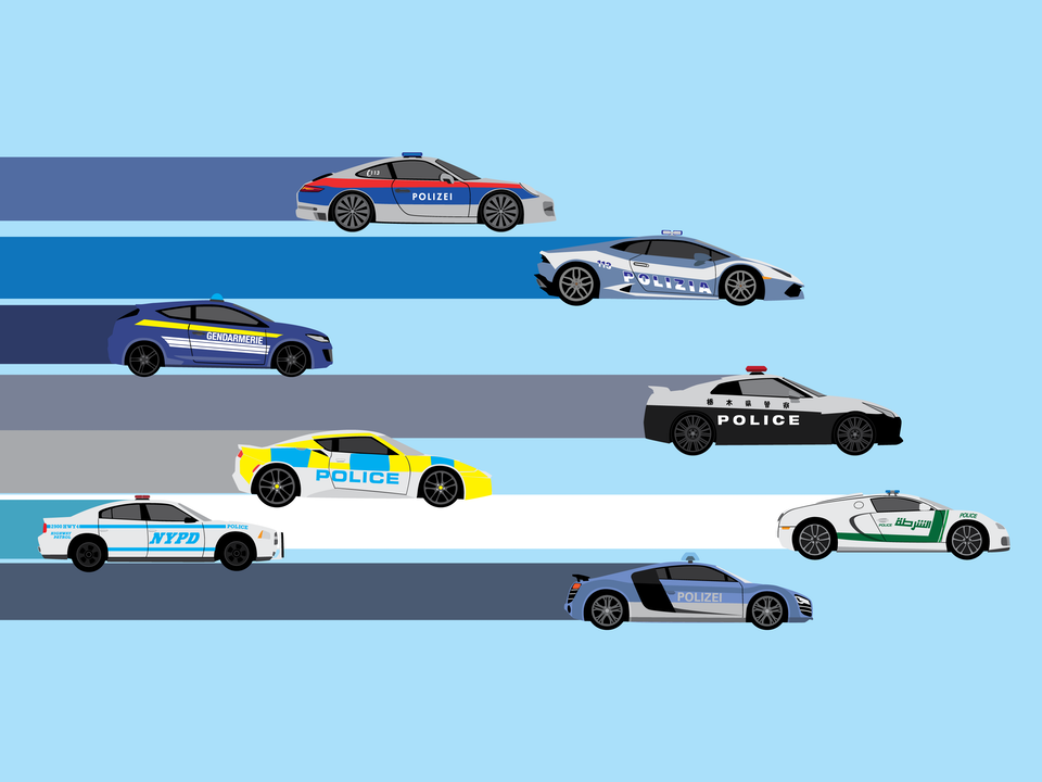 Emergency Vehicles - Fastest police cars