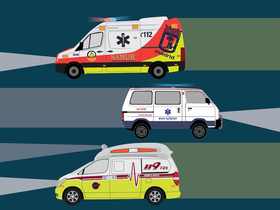 Emergency Vehicles - Ambulances