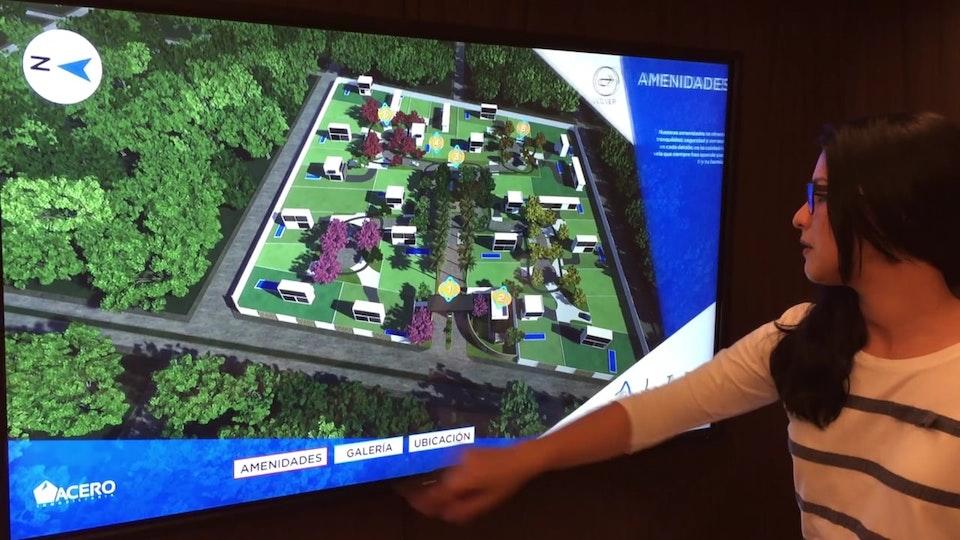 VINKEL Touch - App 3D para pantallas táctiles.