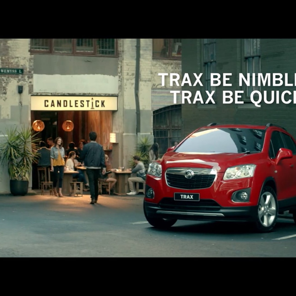 Trax Be Nimble - Holden Trax