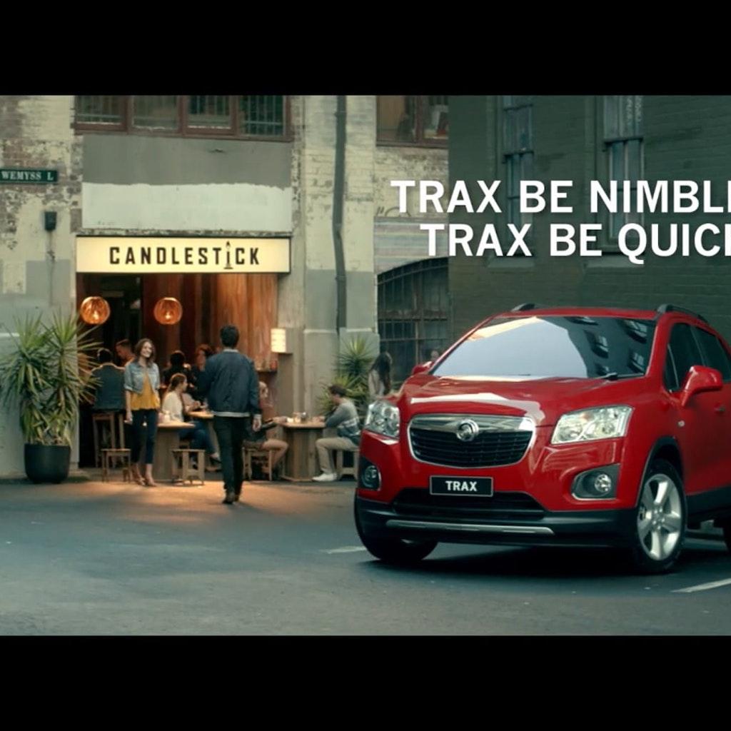 Trax Be Nimble - Holden Trax
