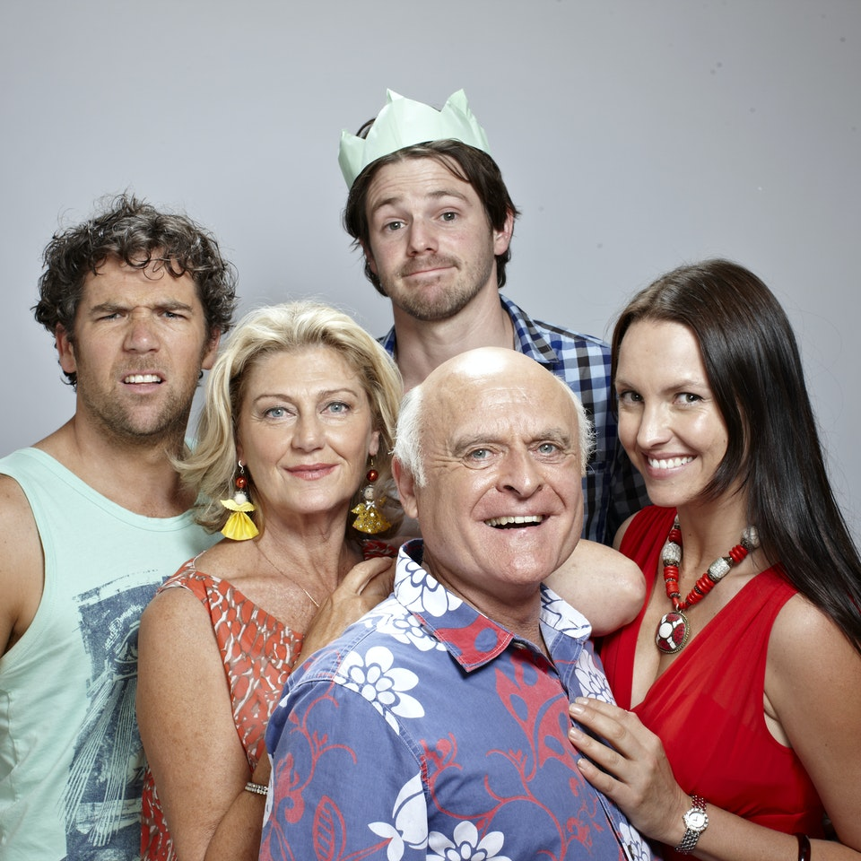 The Moodys THE MOODY FAMILY in THIS CHRISTMAS. A Jungleboys production for ABC TV. Photo by Toby Burrows 120420_thischristmas_S11_0856