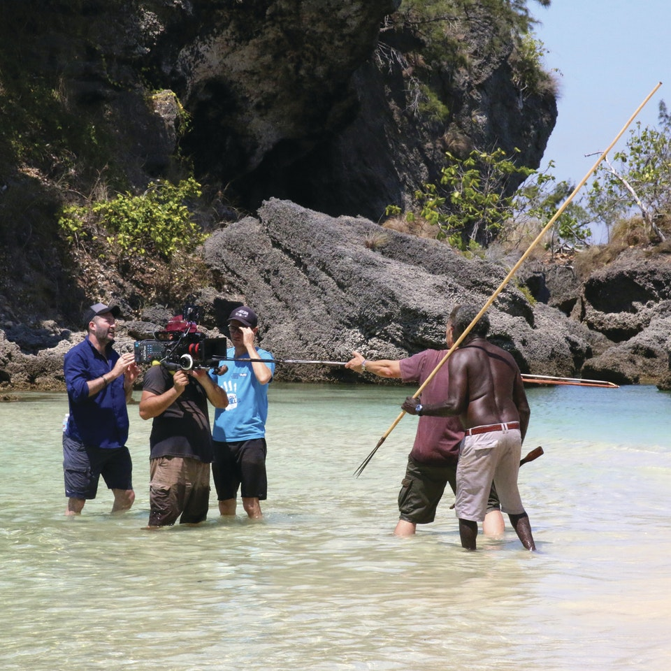 Tourism Australia Aboriginal-Australia-Our-Country-Is-Waiting-For-You-Behind-the-scenes-at-Lirrwi-Tourism-Spear-Fishing-at-Lonely-Island-Bawaka-Homelands-NT