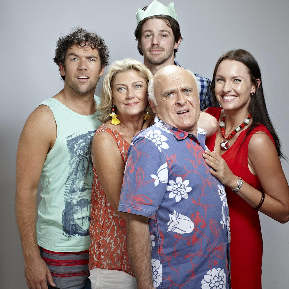 The Moodys THE MOODY FAMILY in THIS CHRISTMAS. A Jungleboys production for ABC TV. Photo by Toby Burrows 120420_thischristmas_S11_0868 copy