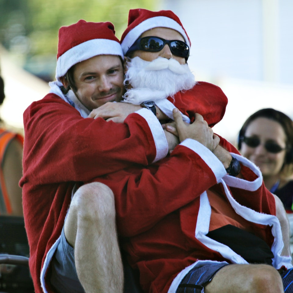 The Moodys This Christmas 082_Ep1_Dan (Ian Meadows)_Sean (Patrick Brammall)_Pic. Prudence Upton