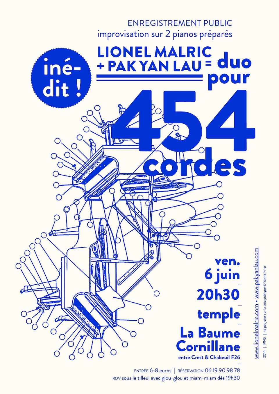Duo pour 454 cordes [2014]