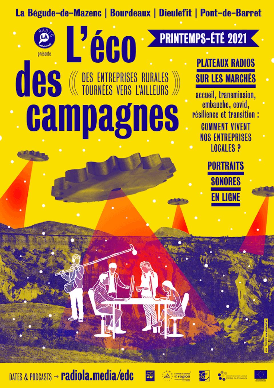 L'éco des campagnes | RadioLà, Dieulefit [2021]