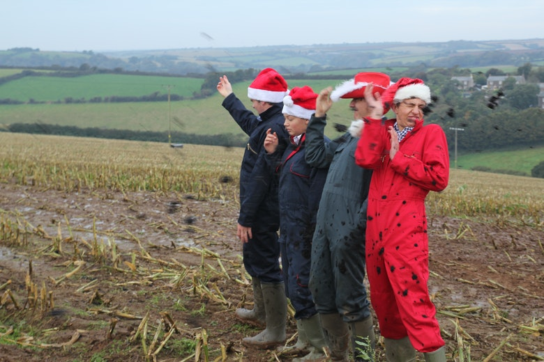 ChristmasThe Muckers get covered in muck