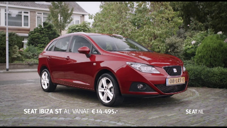 Seat Ibiza commercial