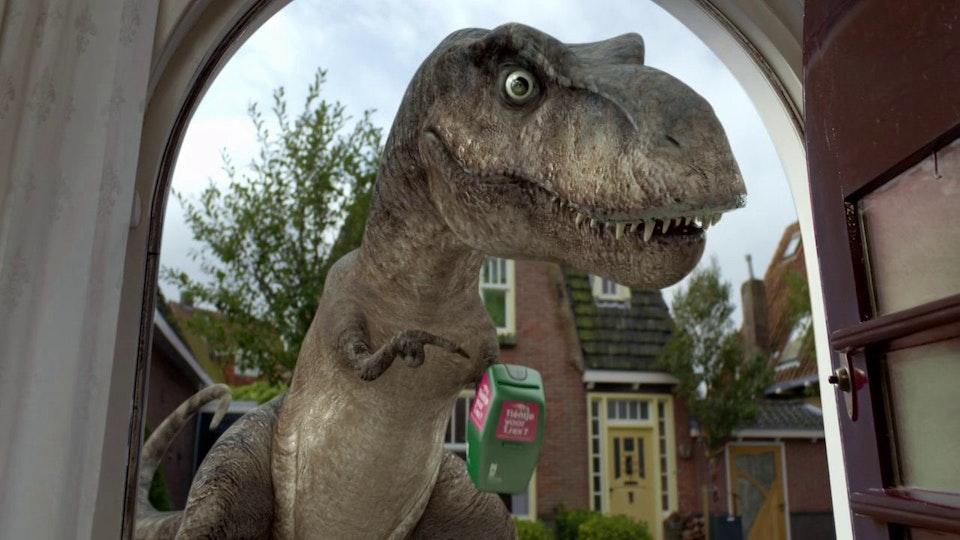 Naturalis - Tientje voor T Rex