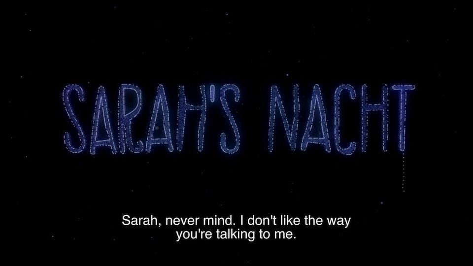 Kids & Docs - Sarah's Nacht Trailer