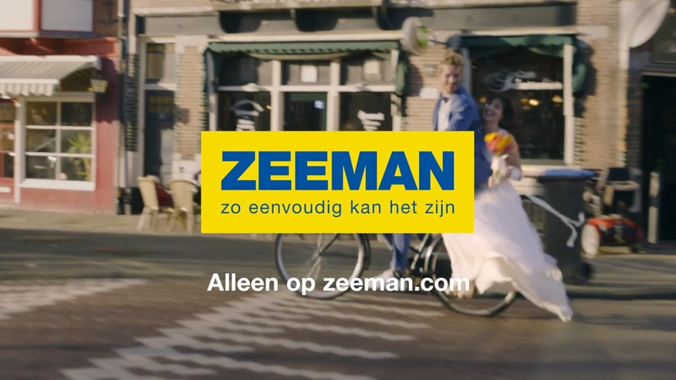 Online commercial: Trouwjurk - ZEEMAN-HD