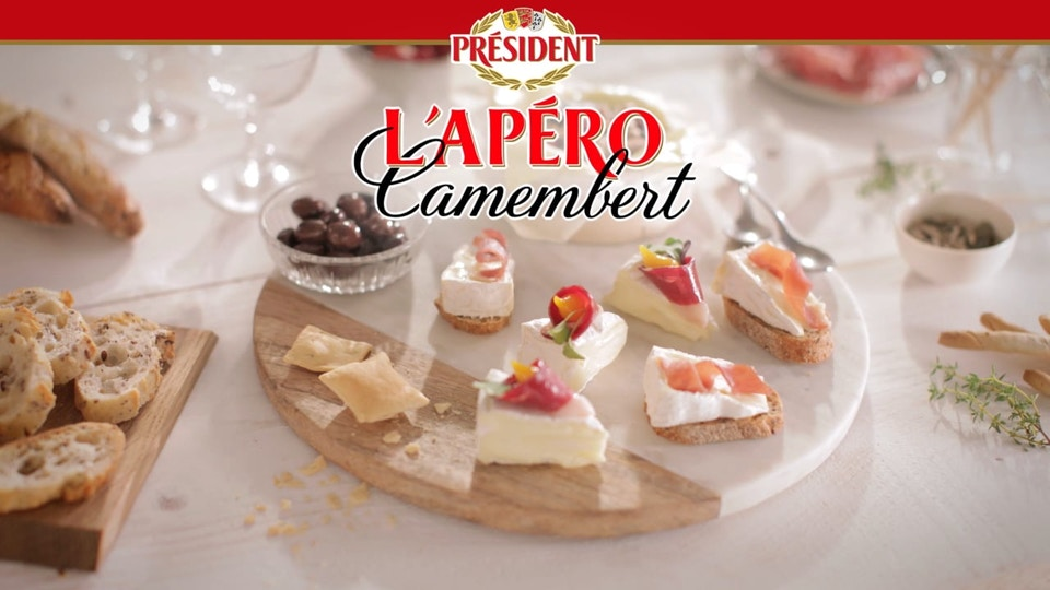 PRESIDENT - L'apéro Camembert