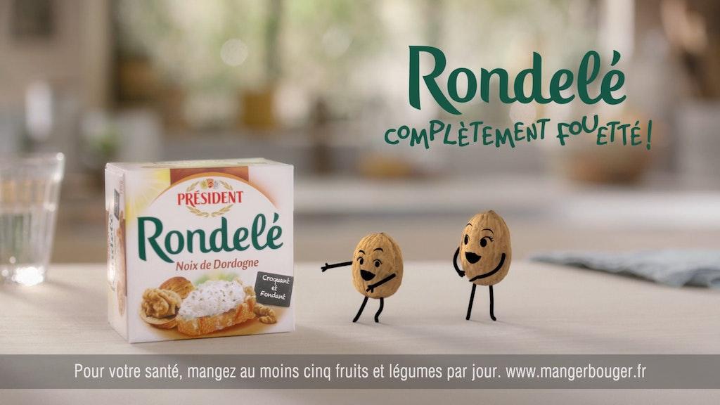 PRESIDENT - Rondelé Noix