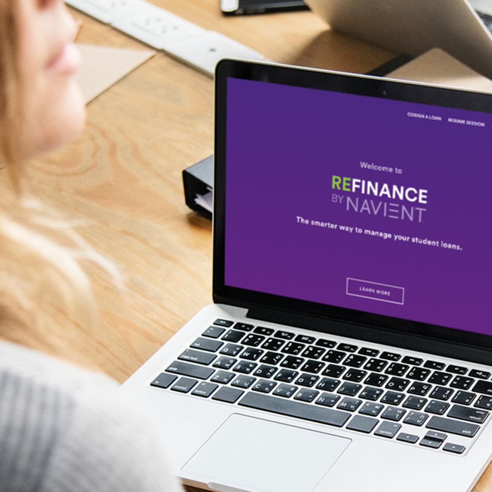 UX | ER - REFINANCE: Student Loan Consolidation
