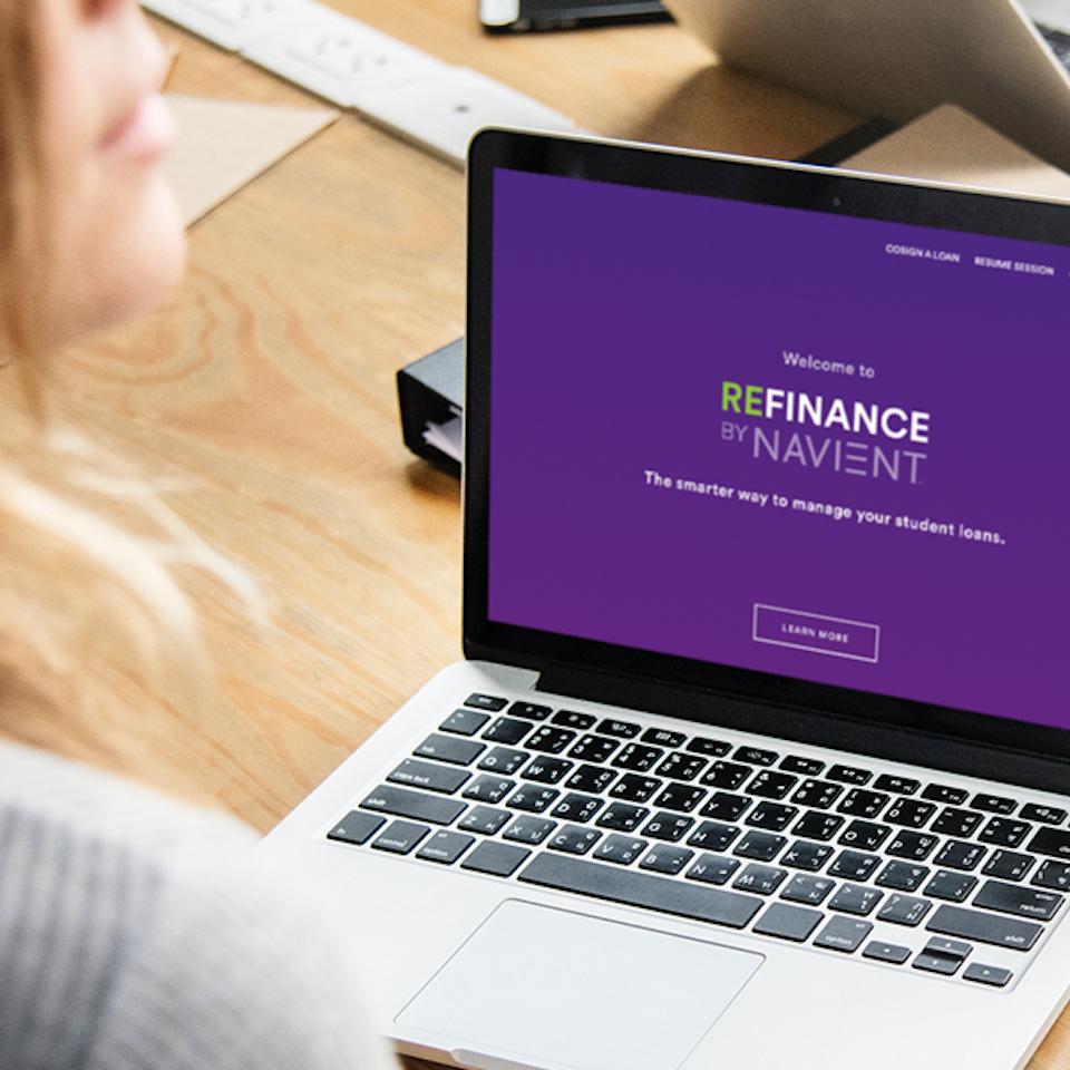 UX | ER - REFINANCE: Student Loan Consolidation