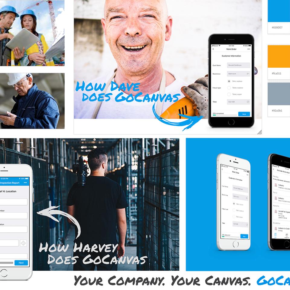 UX | ER - GoCanvas: Brand Refresh