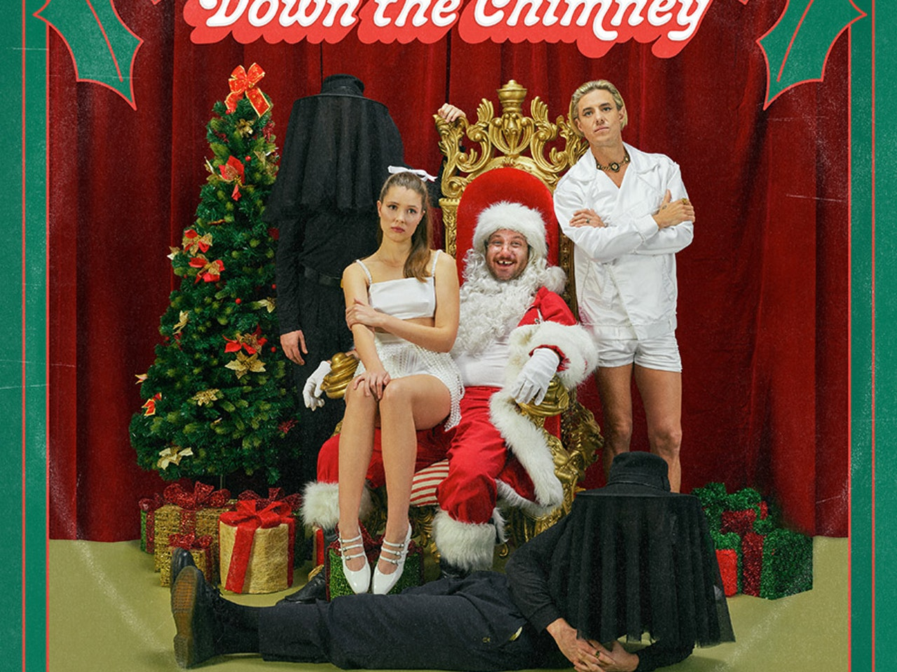 Confidence Man - Santa's Comin' Down The Chimney - Artwork_lowres