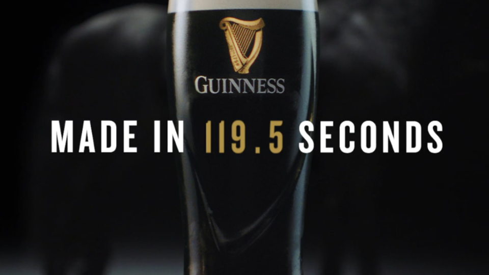 Guinness - Made in 119.5 Seconds 'Farrier'