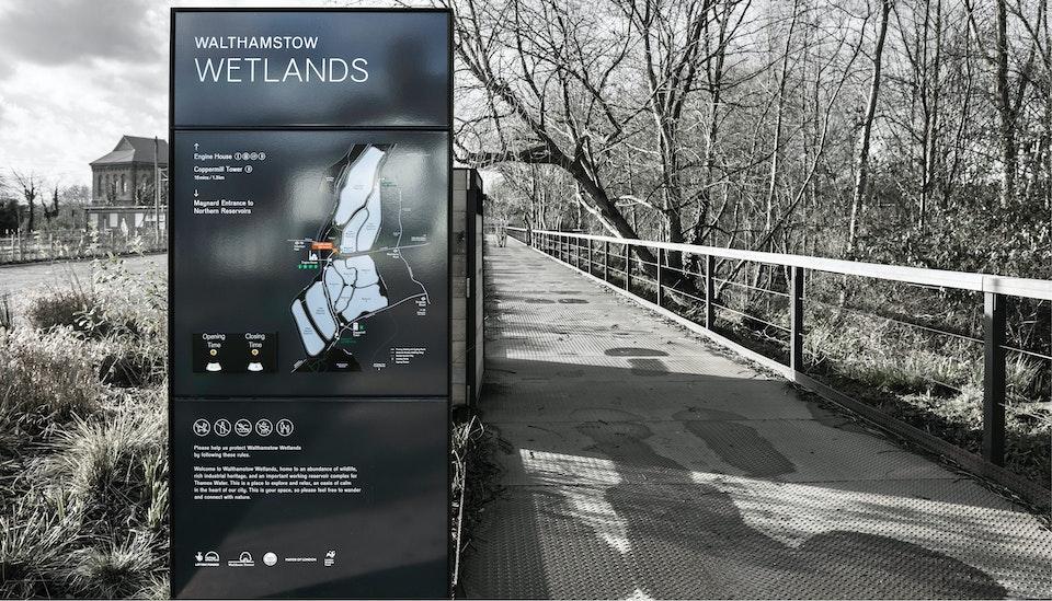 Walthamstow Wetlands -