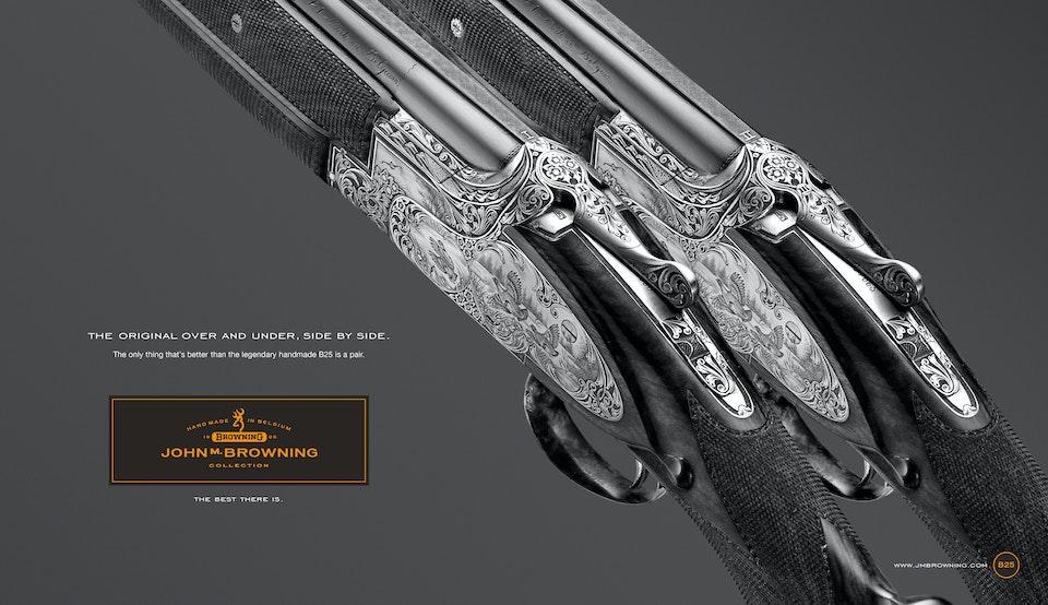 Browning Handmade Shotguns -