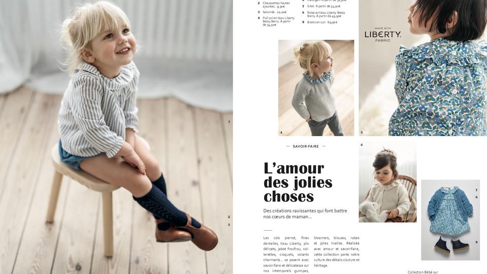 Capucine Lamoitte - CYRILLUS COLLECTION ENFANT/BÉBÉ AH21