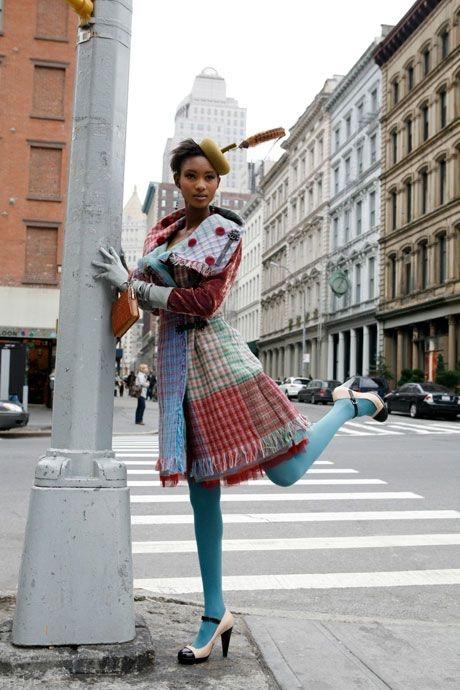 Sandra Murray Breanish coat in New York - Sandra Murray Breanish coat in New York
