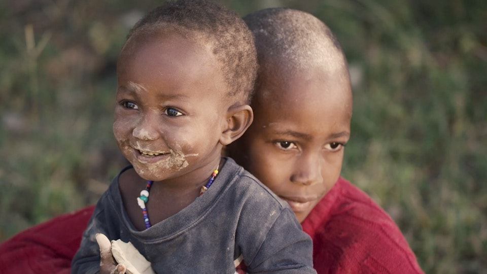 Unilever Mud Cookies - Happy children of Haiti, no sense of injustice, even with hungry stomachs.