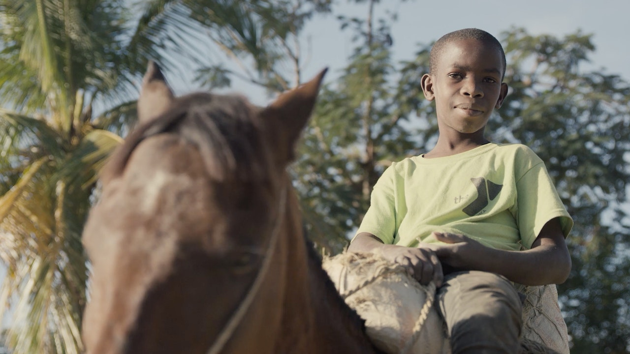 Unilever Mud Cookies - The cookies are delivered by young boy on horseback across Haiti.