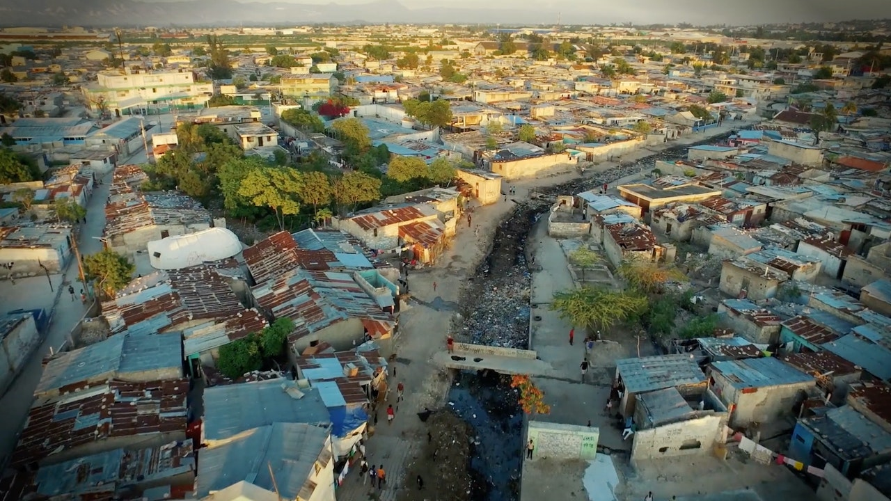 Unilever Mud Cookies - The slums of Haiti.