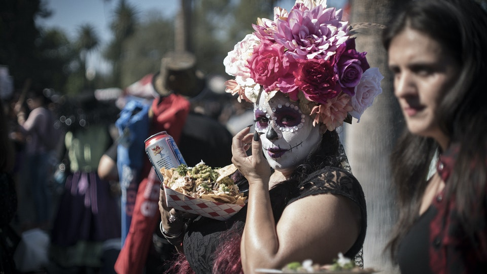 'Day of the Dead' at Hollywood Forever.
