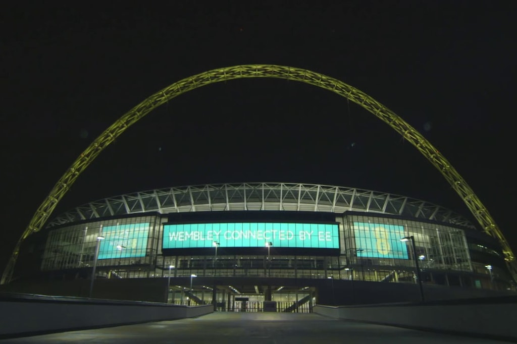 Wembley Arch Launch Party Promo for FA TV