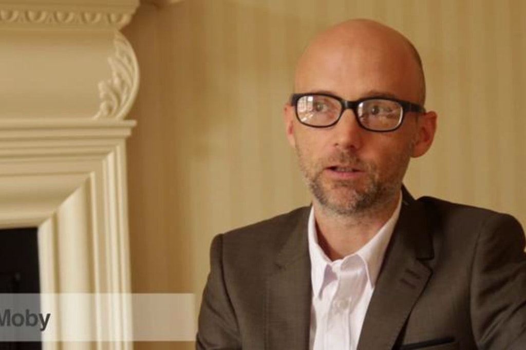 Moby 'Lie Down In Darkness' Behind the scenes