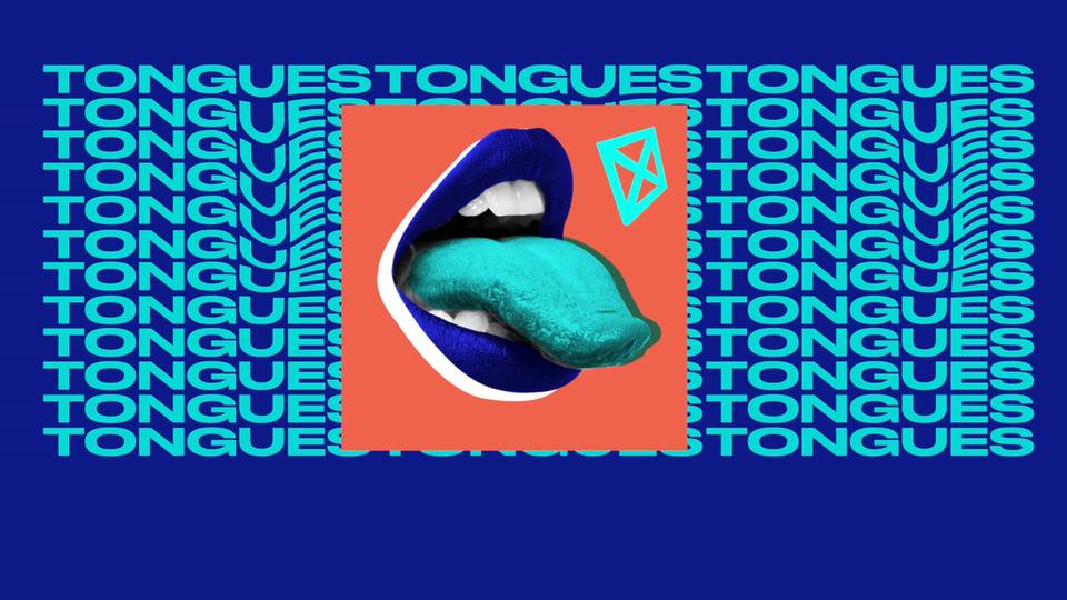 WDKA Tongues exhibition promo