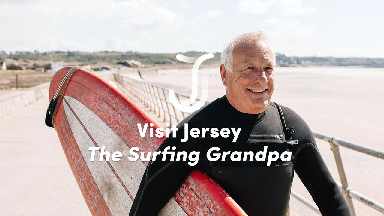 Visit Jersey - The Surfing Grandpa