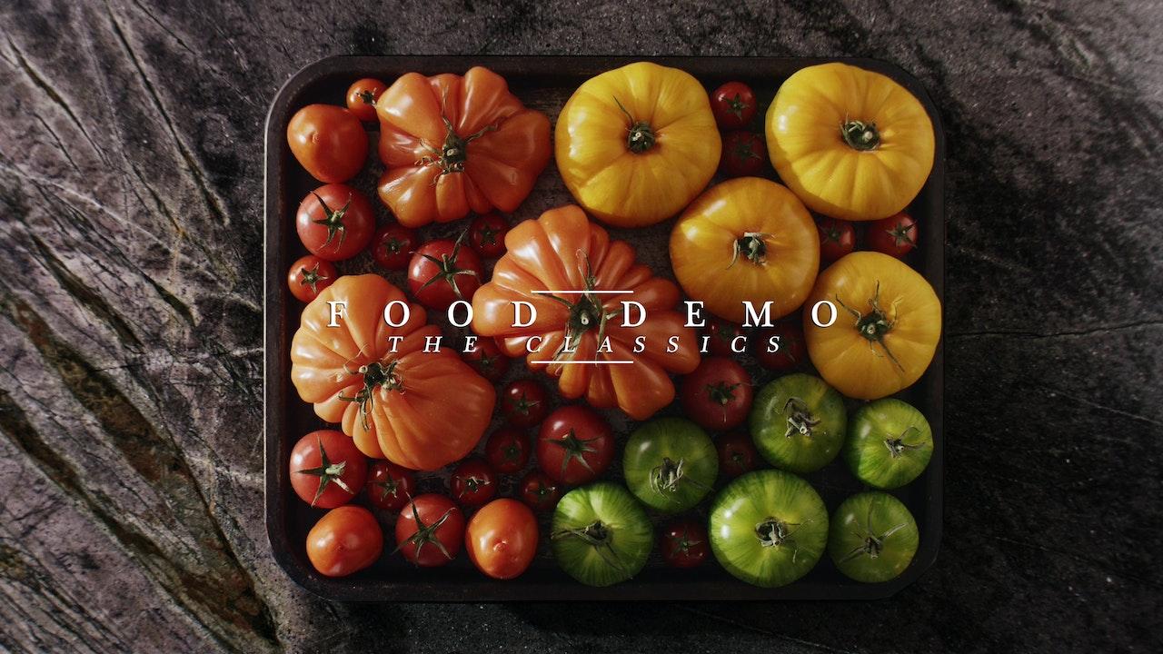 Food Demo - The Classics...
