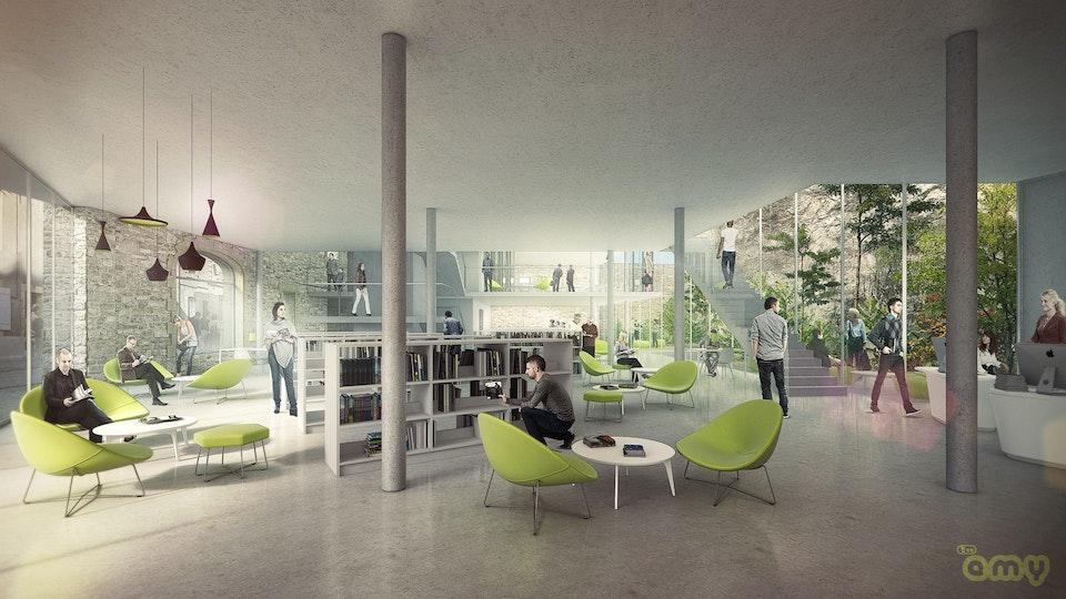 Médiathèque / Media library