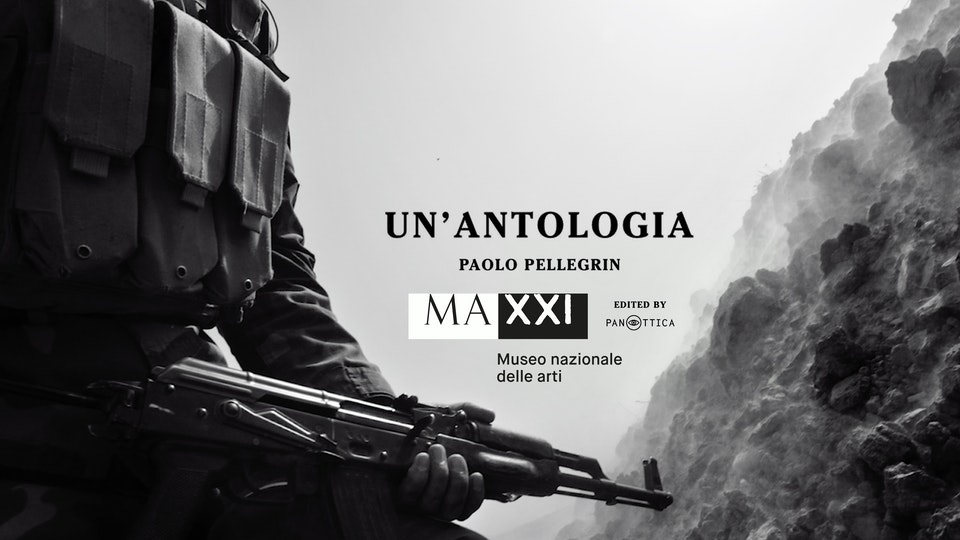 "''Un' antologia'' Video installation for the MAXXI exhibition ""Paolo Pellegrin. Un'antologia"""
