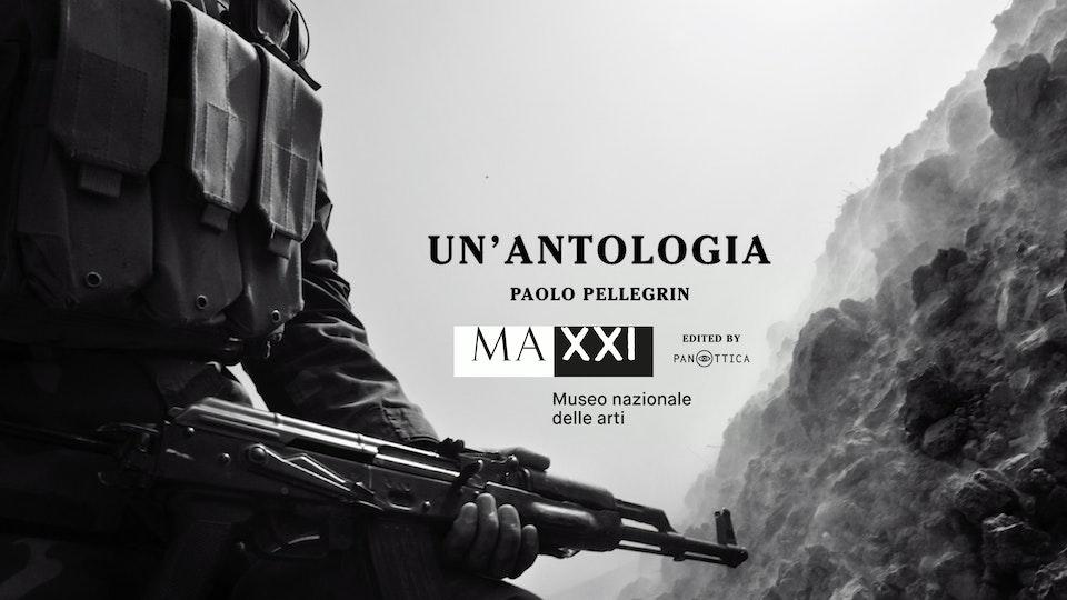 """''Un' antologia'' Video installation for the MAXXI exhibition """"Paolo Pellegrin. Un'antologia"""""""