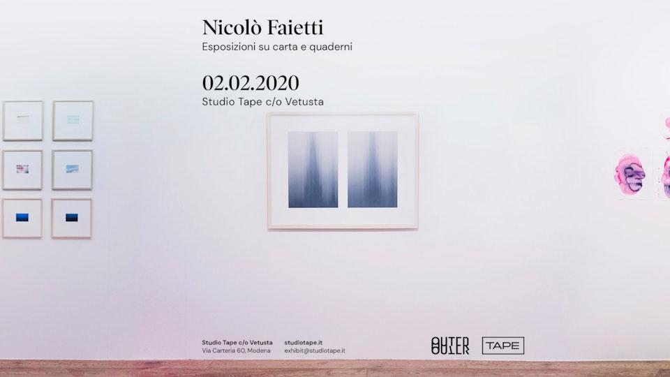 Esposizioni su carta e quaderni 02.02.2020 / Personale