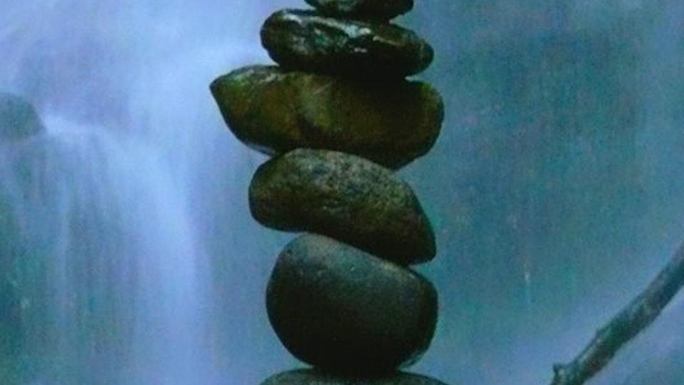 Stone balancing - Stone balancing by Sandor Nagy. 2015 Gleniffer Brae, Scotland. All rights reserved.