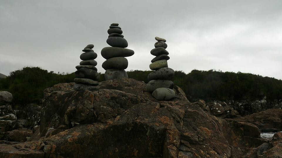 Stone balancing - Stone balancing by Sandor Nagy. 2016 Isle of Skye, Scotland. All rights reserved.