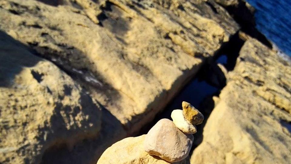 Stone balancing - Stone balancing by Sandor Nagy. 2017 Qawra, Malta. All rights reserved.