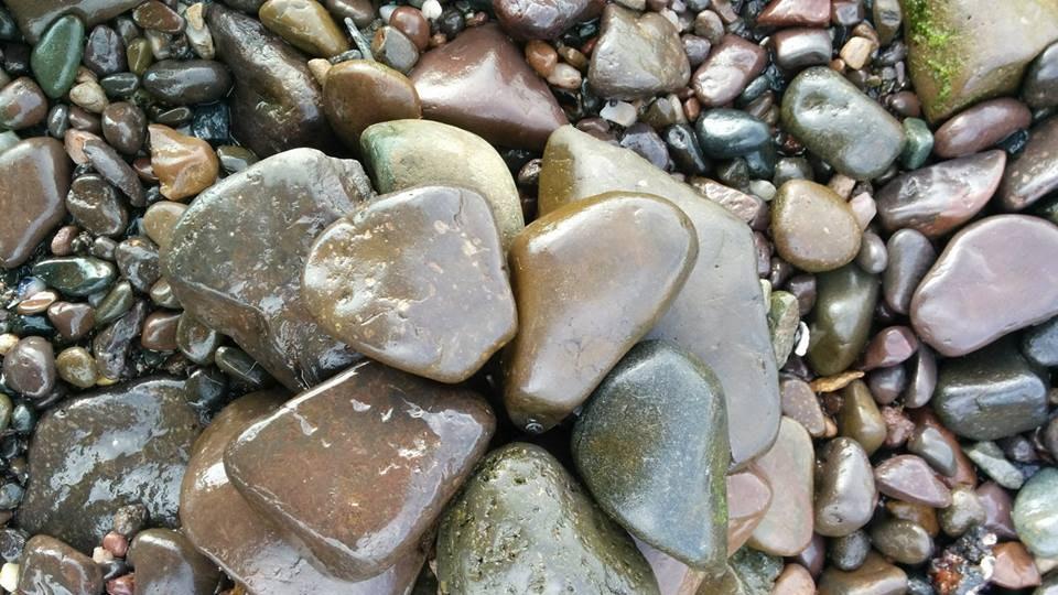 Stone balancing